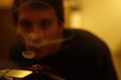 Heroshima (chrisjohannes) Tags: canon smoke smoking pot rings 60d