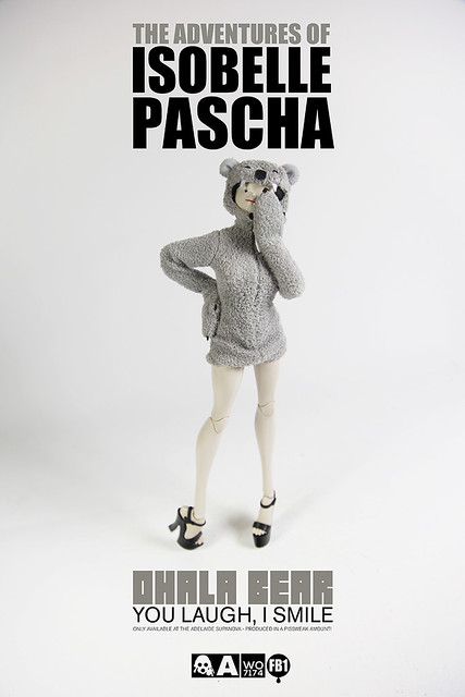 "threeA – Adventures of Isobelle Pascha 系列 ""Ohala Bear"" 性感無尾熊限定"