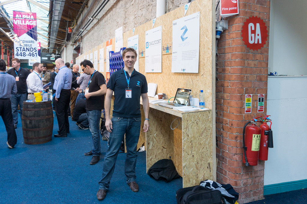 Gaspar d'Orey  Of Zercatto At The Web Summit In Dublin