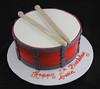 Drum Cake (butterflybakeshop) Tags: nyc music newyork cake drum band bakery musicalinstrument drumsticks customcake butterflybakeshop