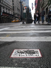 New Toynbee Classic Message Tile 0458 (Brechtbug) Tags: street new york 2001 city nyc november classic by tile dead idea message near manhattan severino midtown made tiles covered planet jupiter kubricks avenue 5th toynbee named verna tar crumbling sevy possibly reclusive resurrect uncovered partially 56th 2013 philadelphian 11162013