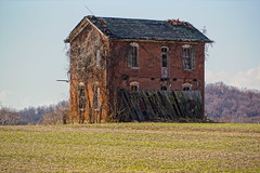 Standing Tall (nikons4me) Tags: county brick abandoned decay oldhouse missouri pike decaying oncewashome nex7 sony1855mmf3556oss
