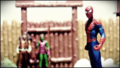 Spider Man (Gui Lopes BH) Tags: man green classic comics toys miniatures spider action statues collection xmen goblin figurine marvel universe panini figures avengers chumbo kraven eaglemoss guilopesbh