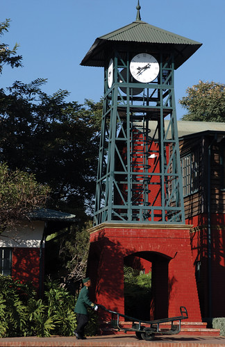 Rovos Rail - Pretoria Park station clock tower - The Pride of Africa