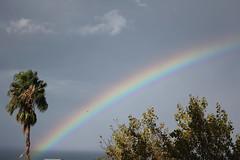 Angolo verde (Anfora di Cristallo) Tags: sky clouds rainbow nuvole natura cielo colori arcobaleno