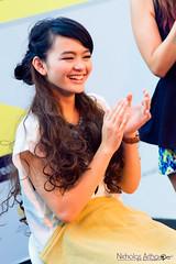 Riskha Fairunissa (rainnc) Tags: hairdo makeover hairstyle ikha jkt48 pekanprodukkreatifindonesia riskhafairunissa ppki2013