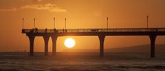 20131220_6561_1D3-200 5:49am Pier Sunrise #2 (johnstewartnz) Tags: canon eos 1dmarkiii 1d3 1dmark3 70200mm pier newbrightonpier newbrighton sunrise sun ship gencowisdom top10 yabbadabbadoo wonderfulworld 100canon eyegrabber unlimitedphotos wonderfulword