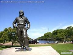 Edmondo Prati Monumento a Giuseppe Garibaldi Bronzo Uruguay 1957