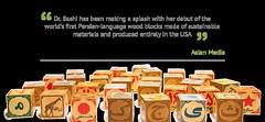 Dr. Bashi Persian alphabet wood blocks (Dr. Bashi Multilingual Toys) Tags: persian wooden education arabic heirloom language recycle multicultural woodentoys sustainable bilingual multilingual madeinusa ecofriendly reuse reduce nontoxic earthfriendly farsi environmentallyfriendly socialenterprise multiculturalism usmade reducereuserecycle ethical woodblocks multilingualism topquality smallbusiness mompreneur bilingualism educationaltoys persianart childfriendly alphabetblocks classictoy 3rs educationaltoy sociallyresponsible luxurytoys woodenalphabetblocks heirloomquality nontoxictoys sustainablewood womenownedbusinesses localforests persianartist womenownedbusiness heirloomtoys minorityownedbusiness arabicspeakers ethicallymade persianspeakers ethicalbusiness sustainableforests minorityownedbusinesses tactiletoys golbargbashi kouroshbeigpour golbargbashiphotography  momowned worldclasstoy drbashi americansustainablewood