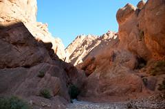 Tamlalte, in de kloof tussen de apenvinger rotsen, Marokko 2013 november (wally nelemans) Tags: canyon morocco maroc marokko conglomerate kloof 2013 apenvingerrotsen tamlalt tamlalte conglomeraat