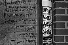 InkHead (Now It's Real!) Tags: nyc newyorkcity blackandwhite ny newyork brooklyn graffiti nikon nightshot graf stickers tags graff bk ih inkhead bkay graffitistickers ih1 newyorkcitygraffiti d3100 nikond3100
