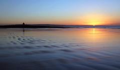 Porthcawl Sunrise (brackenb) Tags: sunset sea sky sun beach southwales wales waves seafront porthcawl swanseabay sandybay explored