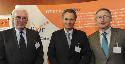 Robert Jan Smits, Ivan Wilhelm and Zdeněk Hostomský