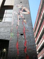Hosier Lane Mural by Kaffeine (wiredforlego) Tags: streetart graffiti mural au australia melbourne mel urbanart cbd kaffeine