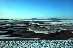 空港鉄道車窓 (m-louis) Tags: sea mountain landscape sony explorer korea incheon trainview 仁川 韓国 10000views 100faves rx100