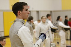 WP Fencing_Donahue1 (West Point - The U.S. Military Academy) Tags: athletics sabre fencing westpoint invitational cadets fencers epee arvin corpsofcadets usma uscc vision:outdoor=0573 westpointfencing clubathletics