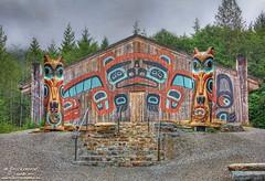 The Beaver Clan House, Saxman Native Village (PhotosToArtByMike) Tags: alaska ak ketchikan ketchikanalaska saxmannativevillage totempolepark nativeamericantotempoles beaverclanhouse