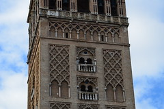 The Giralda, originally 12th century Almohad minaret (6) (Prof. Mortel) Tags: spain minaret seville andalucia giralda almohad