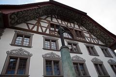 Aarau /4 (dive-angel (Karin)) Tags: schweiz switzerland suisse suiza haus aarau aargau stadtfhrung 2470mm bemalt giebel eos5dmarkii