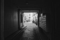 Courtyard in Paris