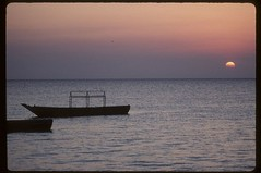 Zanzibar Sunset (becklectic) Tags: africa sunset tanzania 2000 september zanzibar stonetown views100 zanzibarcity worldtrekker 1153k