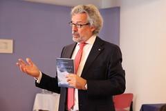 """Prof. Diego De Leo je med drugim predstavil svojo knjigo Prelomnice, ki je bila lansko leto prevedena v Slovenščino • <a style=""""font-size:0.8em;"""" href=""""http://www.flickr.com/photos/102235479@N03/14218677851/"""" target=""""_blank"""">View on Flickr</a>"""