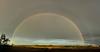 Arc-en-ciel double complet (Explored) (pylacroix) Tags: sky clouds rural spring rainbow double ciel québec nuages campagne printemps arcenciel 2014 potofgold mirabel