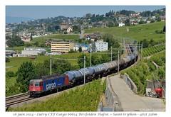 Re 620 060-4 - Lutry (CC72080) Tags: train sbb cargo locomotive lutry cff re66 re620