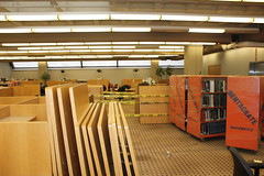 Kresge Library Collection Transfer - July 8, 2014 (cseeman) Tags: campus construction university michigan libraries annarbor books offices weeding universityofmichigan volumes corrigan bookcarts librarymove rossschoolofbusiness printcollection kresgebusinessadministrationlibrary kresge20 libraryprintcollection k2july082014 kresgebooks2014 kresgecollection2014