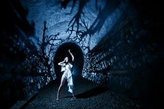 Haunted Tunnel (Ilko Allexandroff / イルコ・光の魔術師) Tags: light cactus japan dance battery tunnel pack blaster v6 nissin トンネル strobist 武田尾 takedao ジャパン mg8000 ストロビスト ブラスター