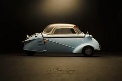 1955 Messerschmitt KR200 (aJ Leong) Tags: 1955 118 messerschmitt revell kr200