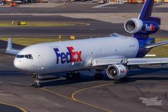 N623FE FedEx MD11F 34L YSSY-7204 (A u s s i e P o m m) Tags: mascot newsouthwales australia au fedex md11f mcdonnelldouglas sydneyairport syd yssy rydgessydneyairport
