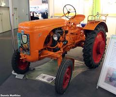 Allgaier tractor (Schwanzus_Longus) Tags: german germany old classic vintage tractor farming farm vehicle equipment orange bremen motorshow traktor trecker trekker allgaier ap17 ap 17 system porsche