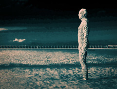 Another Place (Camera_Shy.) Tags: antony gormley another place crosby beach statues