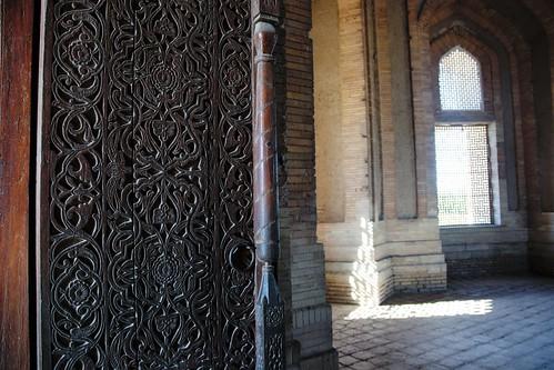 Turkmenistan 548 - Konye (o Kunya)-Urgench - mausoleo di Turabek hanym