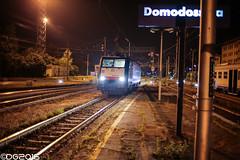 MRCE ES 64 F4 106 E189.106 (DavideEos) Tags: eisenbahn ferrovia railway treno train zug merci freight binari domodossola sempione