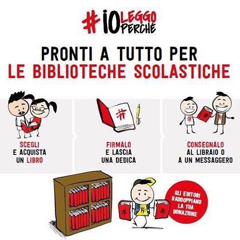 Invito tutti i cittadini ad aiutarci a potenziare la Biblioteca della scuola di #Tollo. Con l'iniziativa #ioleggoperchè comprando un libro alla libreria Edicolè di Tollo si donerà un altro libro alla scuola!!