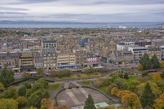 The view from Edinburgh Castle (October 2015) (Vodka Burner) Tags: edinburghcastle edinburgh scotland landscape autumn city cityscape nikond90 nikon