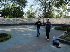 Walk like a zombi (GrusiaKot) Tags: ucraina ukraine україна украина travelling autumn tajchi walking zombi odessa theater sport taichi