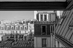 Sous les toits de Paris, B&W, 5 (Patrick.Raymond (2M views)) Tags: paris hdr nikon building toits