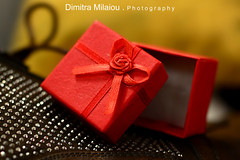 The Art of Giving (dimitra_milaiou) Tags: red gift present rose small world people give smile happy happiness greece crisis europe athens nikon d7100 d 7100 milaiou dimitra open shoes strass fashion style brown yellow walk love lovely moments nice texture photo photography ελλάδα δήμητρα μηλαίου bokeh macro close up closeup diagonal light indoors 35mm f18 live life shopping flower box new mail post package delivery lines packaging