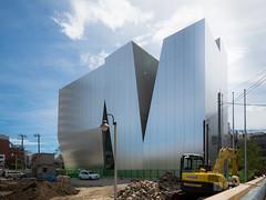 Coming soon, The Sumida Hokusai Museum (すみだ北斎美術館). (christinayan01) Tags: sanaa kazuyo sejima architecture museum building perspective tokyo japan