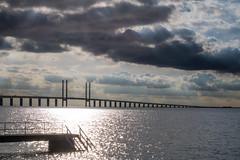 The Bridge (Infomastern) Tags: malm sibbarp bridge bro cloud hav sea sky water resundsbron