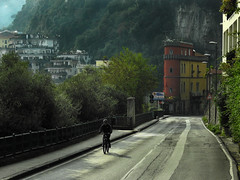 Morning Ride (Beth Reynolds) Tags: italy sorrento bike cycle morning alone light dreamy commute