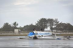 flipped (Claudia Knkel) Tags: oregon goldbeachmunicipalairport airplane flipped upsidedown storm windstorm smallaircraft damage coast