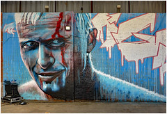 Rouge One (donbyatt) Tags: birmingham digbeth cityofcolours streetart graffiti spraycans urbanwalls rougeone