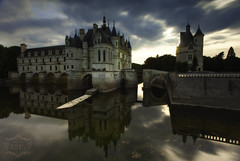 Chenounceaus beauty (Anderony) Tags: azul chenounceau castle castillo francia france loira loire sunset atardecer 5d mark ii canon trpode larga exposicin long exposure