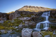 Allt Coire Mhic Fhearchair (Borderli) Tags: waterfall torridon beinneighe coiremhicfhearchair westerross highlands longexposure water flow natur hill rocks sun weather nikon d750 ngc