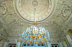 Ceiling Chandelier (Colorado Sands) Tags: ceiling ornate chandelier palace stpetersburg sandraleidholdt russia yusupovpalace interior building artwork yusupov