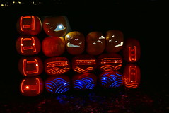 (theleakybrain) Tags: pumpkinnights pumpkin nights mnstatefair p1460082 halloween halloweenwalk minnesota jackolantern jack lantern